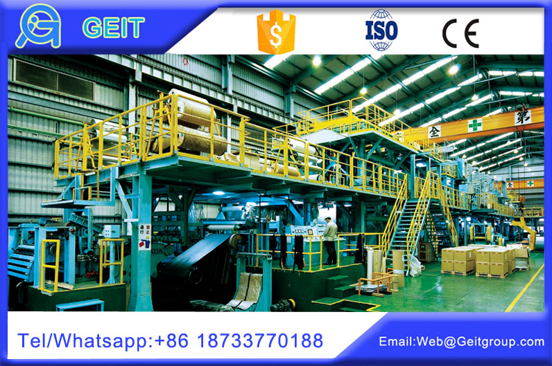 continuous metallic coating lines