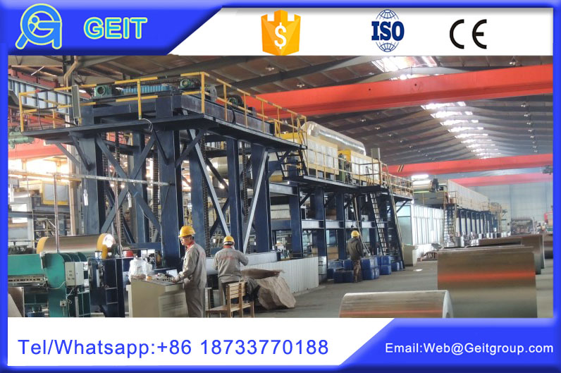 Steel/aluminum coil coating lines