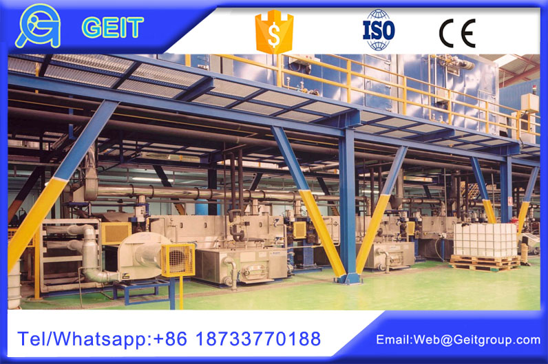 Coil printing technology in color coating line