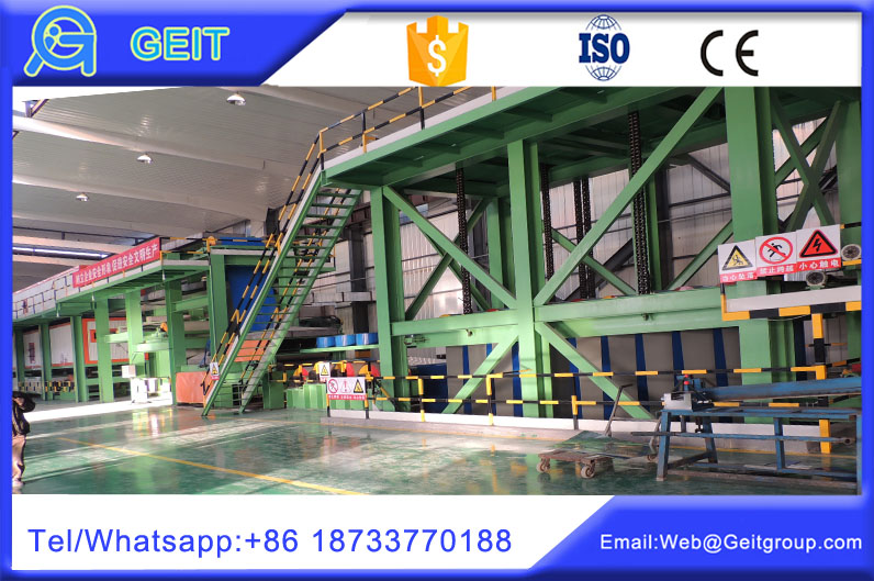 China factory Entry looper and exit looper in color coating line