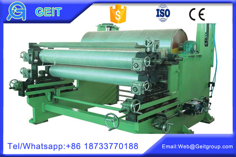 Roller coating machine in color coating line
