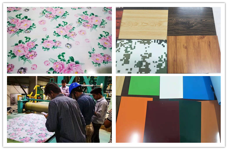 Application of color coated steel plate