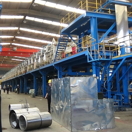 Technical proposal reference for 650mm narrow strip hot-dip galvanizing production line
