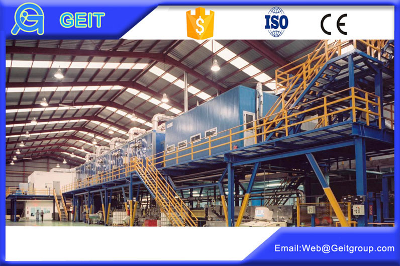 Printing technology in color coating line