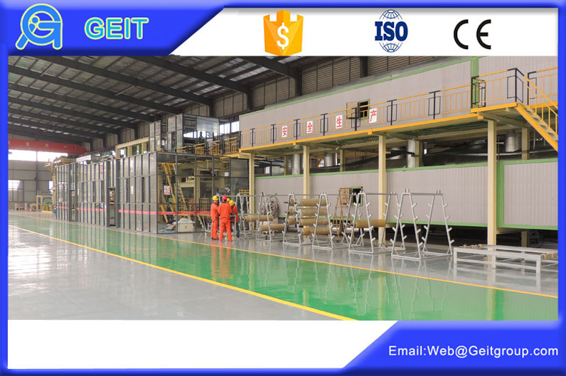 steel and aluminium coil coating&printing line